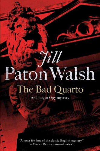 9780312354091: The Bad Quarto: An Imogen Quy Mystery