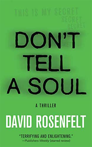 9780312356644: Don't Tell a Soul