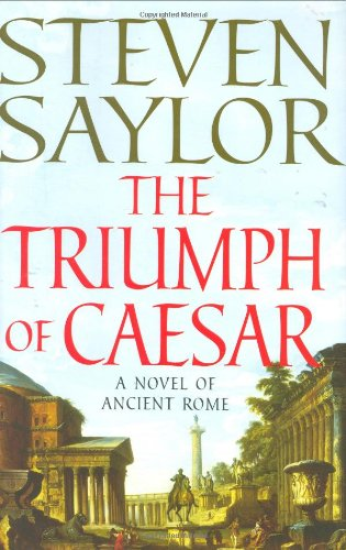 9780312359836: The Triumph of Caesar: A Novel of Ancient Rome