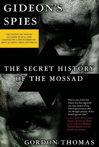 9780312361525: Gideon's Spies: The Secret History of the Mossad