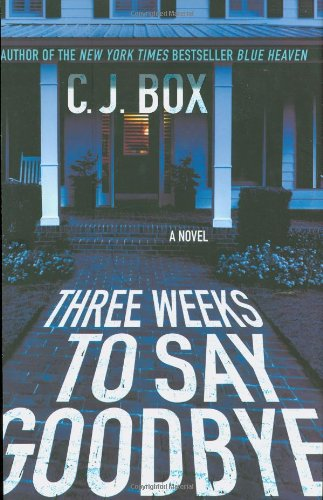THREE WEEKS TO SAY GOODBYE (SIGNED)