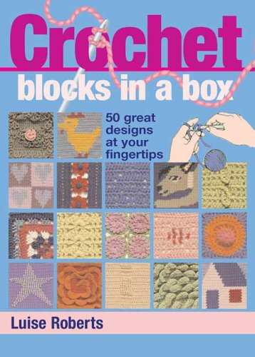 9780312371500: Crochet Blocks in a Box: 50 Great Designs at Your Fingertips