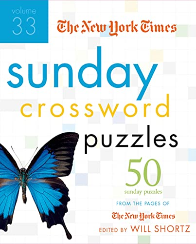 The New York Times Sunday Crossword Puzzles,: Shortz, Edited By
