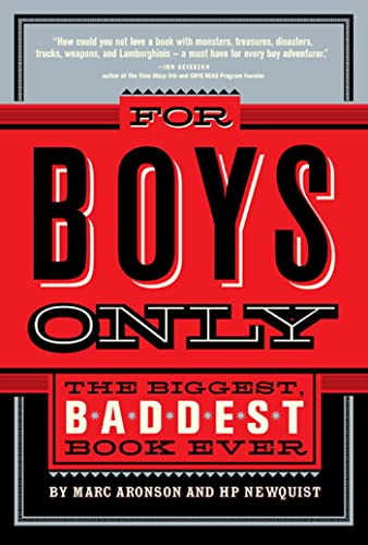 9780312377069: For Boys Only: The Biggest, Baddest, Best Book Ever!