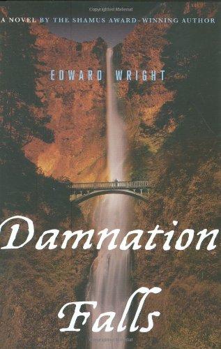 DAMNATION FALLS (SIGNED): Wright, Edward