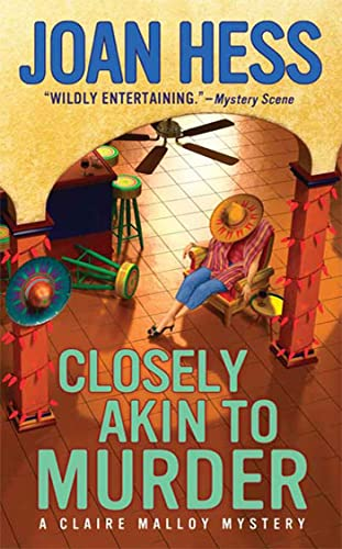 Closely Akin to Murder (Claire Malloy Mysteries): Hess, Joan