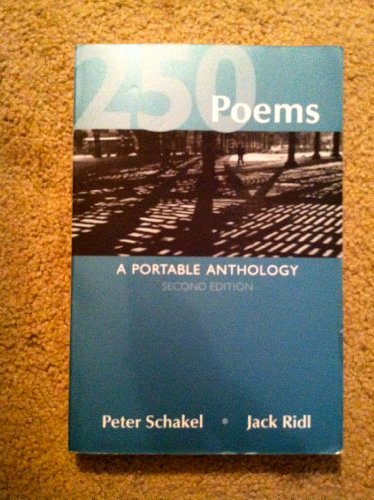 9780312386788: 250 Poems: A Portable Anthology, 2nd Edition