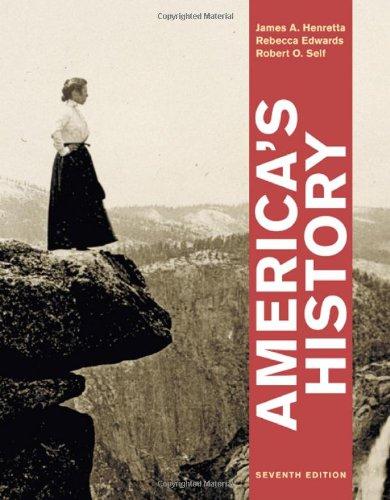 9780312387891: America's History, Combined Volume