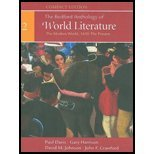 9780312388133: The Bedford Anthology of World Literature (the modern world, 1650-the present, volume 3-compact edit