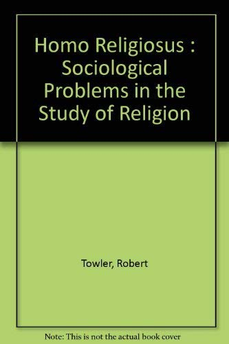 9780312389208: Homo Religiosus : Sociological Problems in the Study of Religion