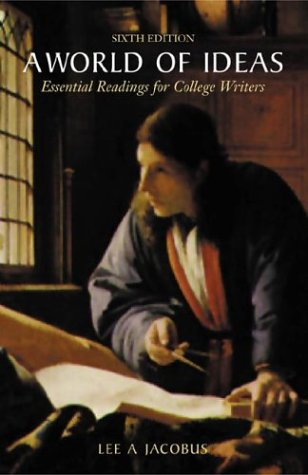 9780312390198: A World of Ideas: Essential Readings for College Writers