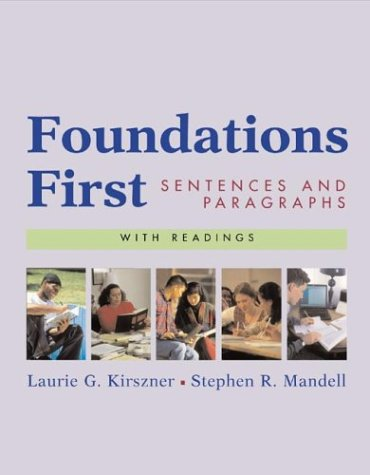 9780312390761: Foundations First with Readings: Sentences and Paragraphs