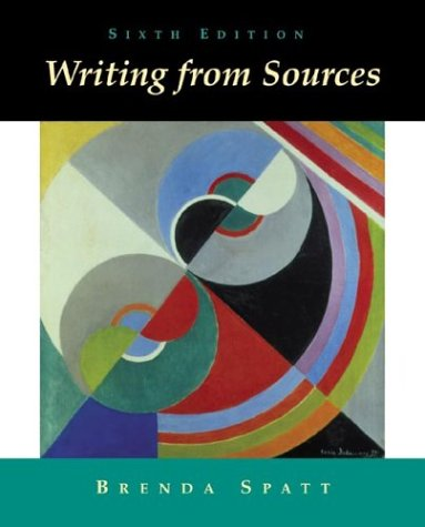 9780312390983: Writing from Sources