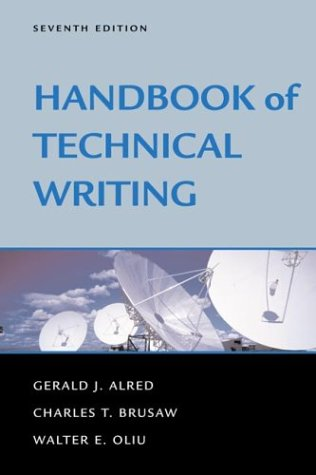 9780312393236: Handbook of Technical Writing