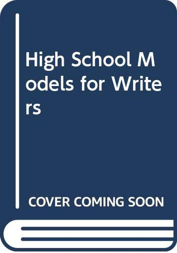 9780312394769: Models for Writers: High School Reprint