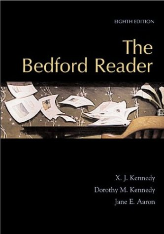 9780312395001: The Bedford Reader