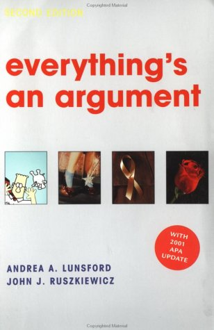 9780312397388: Everything's an Argument: With 2001 APA Update