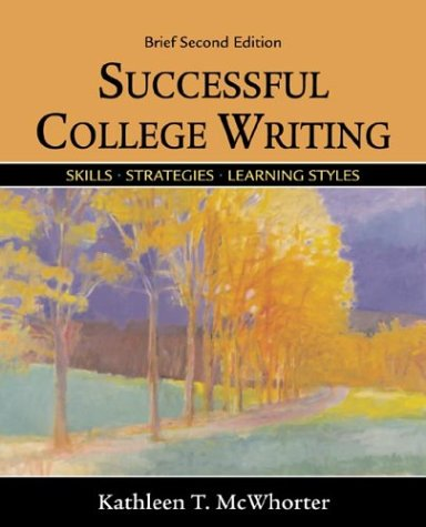 9780312398125: Successful College Writing Brief: Skills, Strategies, Learning Styles