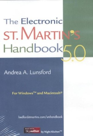 The Electronic St. Martin's Handbook 5.0