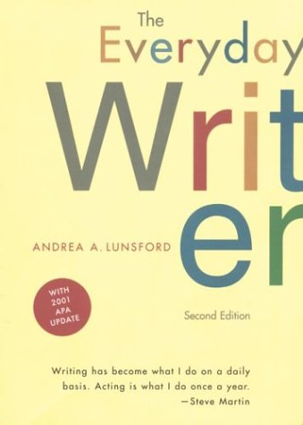 Everyday Writer: With 2001 Apa Update: Andrea A. Lunsford
