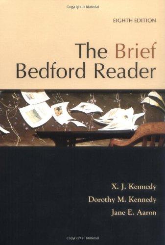 9780312399368: The Brief Bedford Reader
