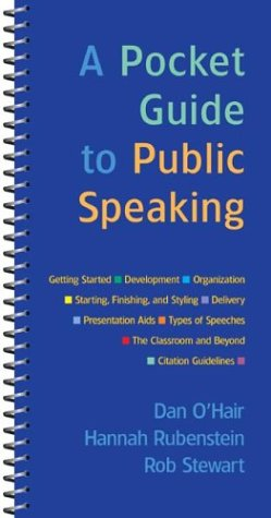 9780312400781: A Pocket Guide to Public Speaking