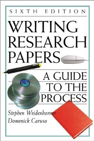 9780312400859: Writing Research Papers: A Guide to the Process with 2001 APA Update