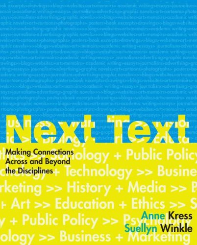 9780312401061: NextText: Making Connections Across and Beyond the Disciplines