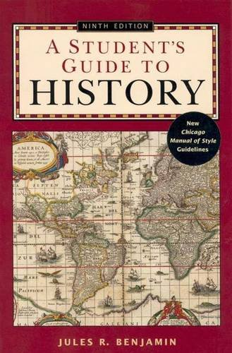 9780312403560: A Student's Guide to History