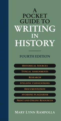 9780312403577: A Pocket Guide to Writing in History
