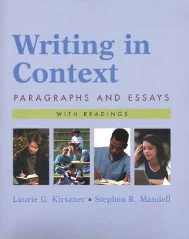 9780312404673: Writing in Context: Paragraphs and Essays with Readings