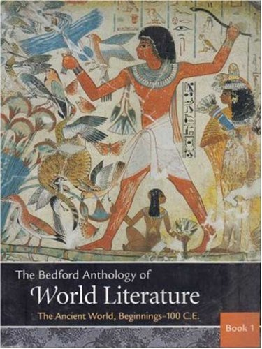 9780312404802: Bedford Anthology of World Literature Pack A (Volumes 1, 2, and 3)