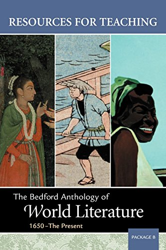9780312405151: Resources for Teaching The Bedford Anthology of World Literature, 1650-The Present (Package B)