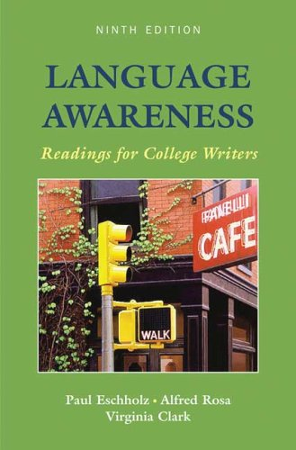 9780312407025: Language Awareness: Readings for College Writers