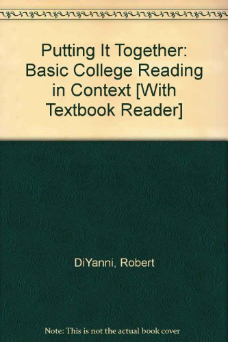 9780312407711: Putting it Together & Bedford/St. Martin's Textbook Reader