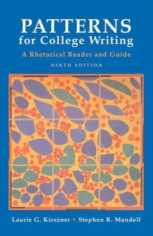 9780312408565: Patterns for College Writing: A Rhetorical Reader and Guide