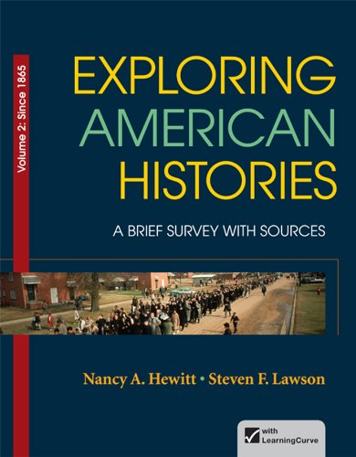 9780312410018: Exploring American Histories, Volume 2: A Brief Survey with Sources
