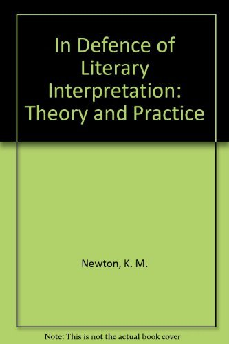 9780312410803: In Defence of Literary Interpretation: Theory and Practice
