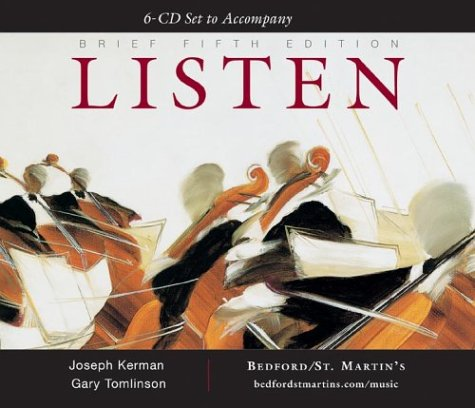 9780312411220: A 6-Cd Set to Accompany Listen, Brief