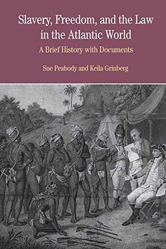9780312411763: Slavery, Freedom, and the Law in the Atlantic World: A Brief History with Documents (The Bedford Series in History and Culture)