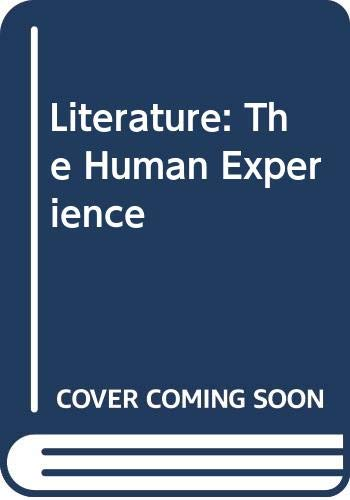 Literature: The Human Experience: Richard Abcarian