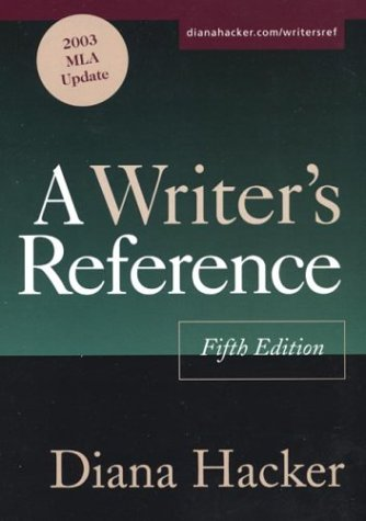 9780312412623: A Writer's Reference: 2003 MLA Update