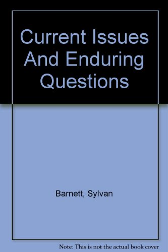 Current Issues And Enduring Questions: Sylvan Barnett