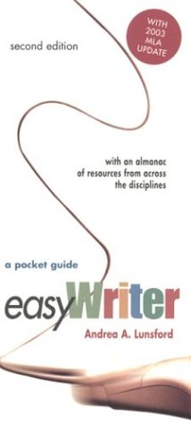 9780312413187: EasyWriter: A Pocket Guide with 2003 MLA Update