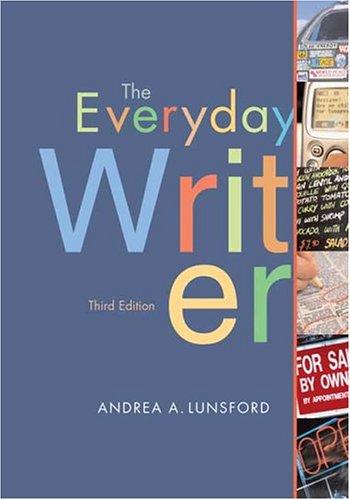 9780312413231: The Everyday Writer