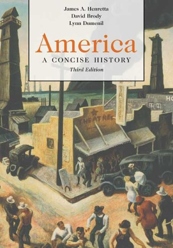 9780312413644: America: A Concise History, 3rd Edition