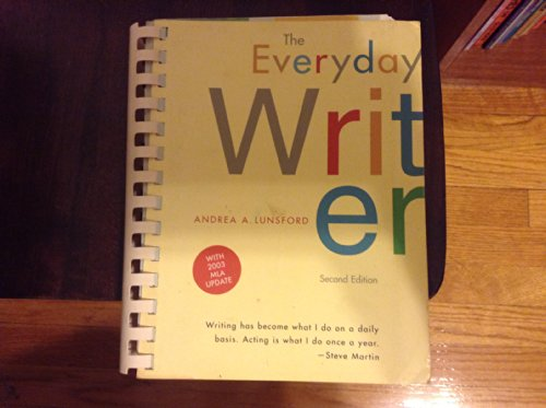 9780312413903: Everyday Writer 2e comb bound with 2003 MLA Update and CD-Rom Everyday: Writer Online 2e