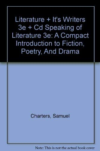 9780312414788: Literature and Its Writers 3e & Speaking of Literature 3e