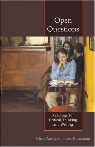 9780312416355: Open Questions: Readings for Critical Thinking and Writing