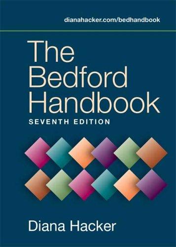 9780312419332: The Bedford Handbook